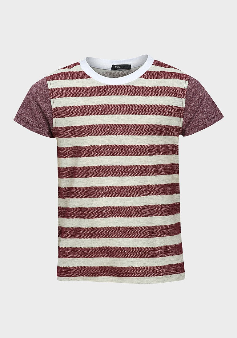 0a26dce5ee Zara Boys Red & White Striped Cotton T-Shirt - RRP £7.99! – Bremkins