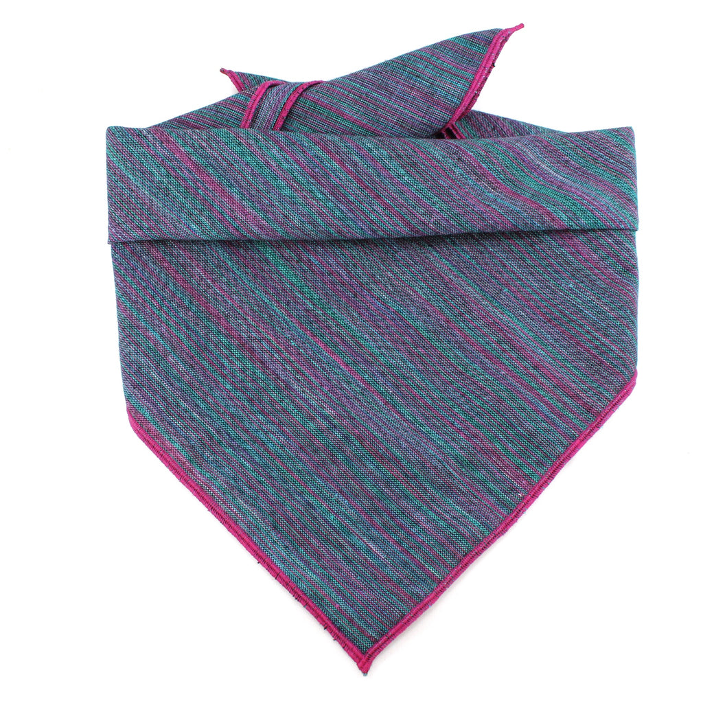 Blue Striped Bandana by Pacific Hound