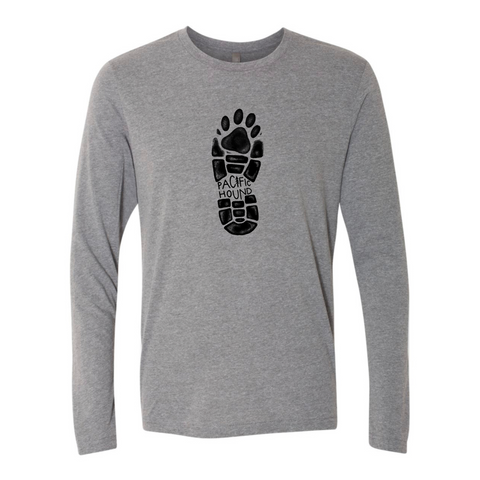 Hiking Boot Long Sleeve- Heather Grey