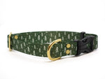 Elements Series - Green Tree Dog Collar