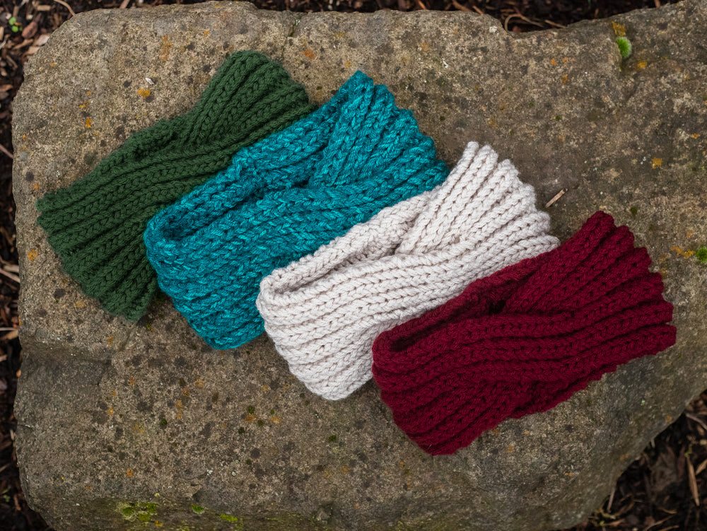 Twisted Knit Ear Warmers