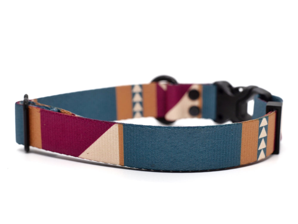 Elements Series - Merlot Dog Collar