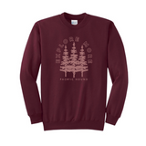 Explore More Crewneck- Maroon