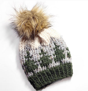 Evergreen Knit Beanie