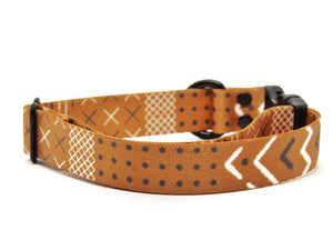 Copper Aztec Dog Collar