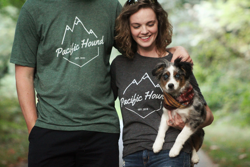 Olive Pacific Hound Mountain Tee