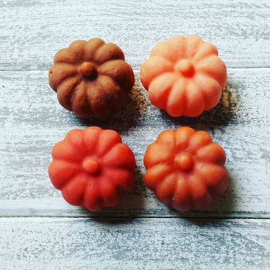 2 Pack Mini Pumpkins
