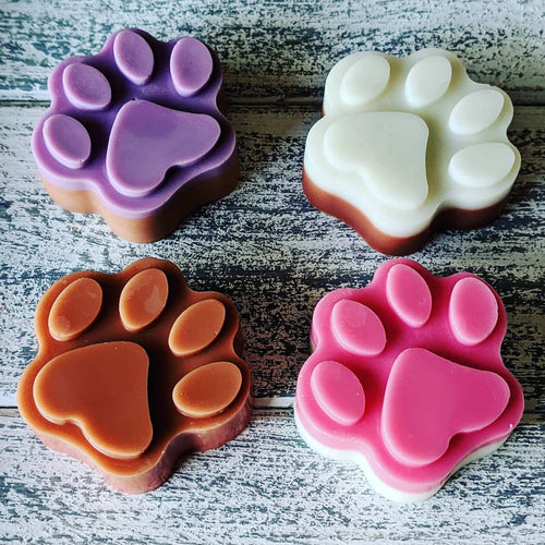 4 Pack Paw Prints