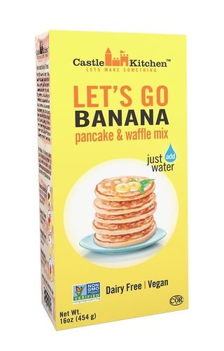 Castle Kitchen - Let's Go Banana Pancake and Waffle Mix