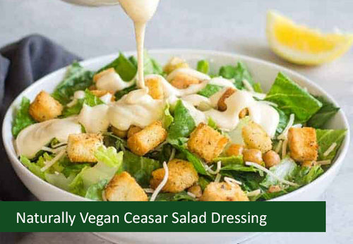 Naturally Vegan Dressings - Caesar Salad Dressing