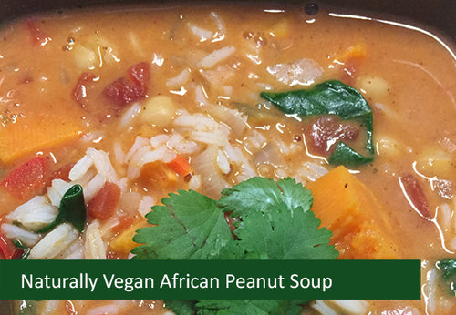 Naturally Vegan Soup - African Peanut