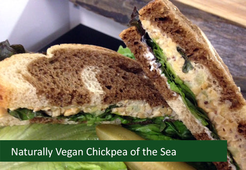 Naturally Vegan Sandwich Filling - Chickpea of the Sea