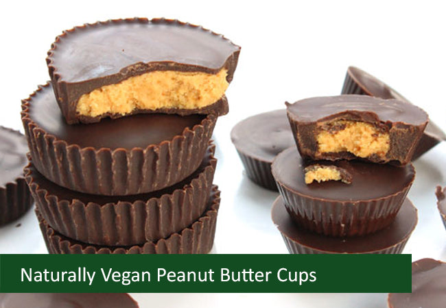 Naturally Vegan Sweets - Peanut Butter Cups - Bag of 6 (Save $2.01)