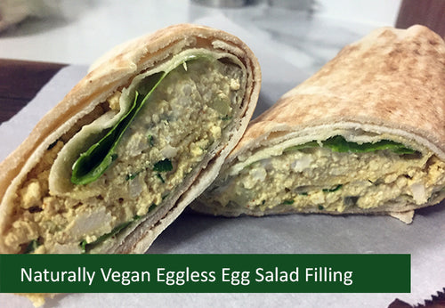 Naturally Vegan Sandwich Filling - Eggless Egg Salad