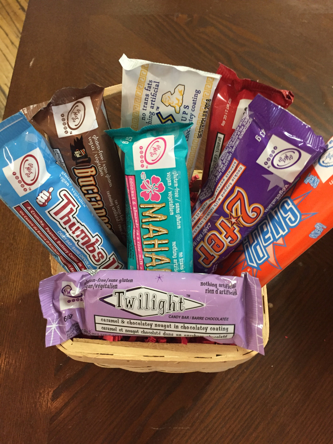 Naturally Vegan Ultimate CHOCOLATE LOVERS Gift Basket - FREE DELIVERY
