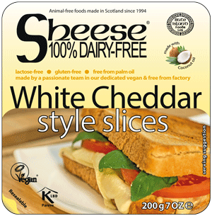 Sheese - White Cheddar style Sheese Slices