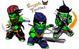 Gangsta Turtles: Team Poster