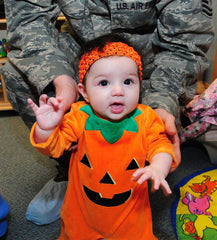 Do it yourself halloween baby costumes solid select diy baby costume pumpkin solutioingenieria Choice Image