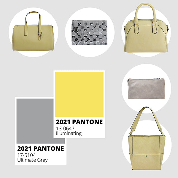 "2021 Pantone ""Color(s) of the Year"" - Ultimate Gray and Illuminating!"