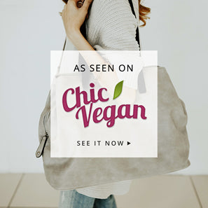 chic vegan handbag purse