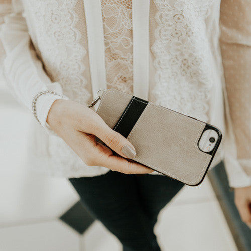 iPhone X Cell Sleeve - Gray