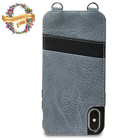 iPhone X Cell Sleeve (Blue)