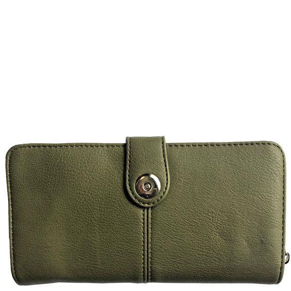 Eleanor Checkbook Wallet - Multiple Colors