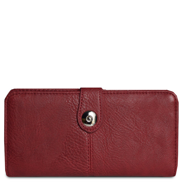 Eleanor Checkbook Wallet - 11 Colors