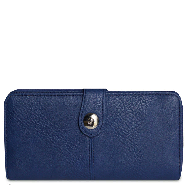 Eleanor Checkbook Wallet (Multiple Colors)