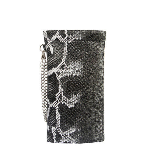 Mask/Sanitizer/Glasses Case (Snakeskin)