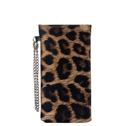 Mask/Sanitizer/Glasses Case (Leopard)