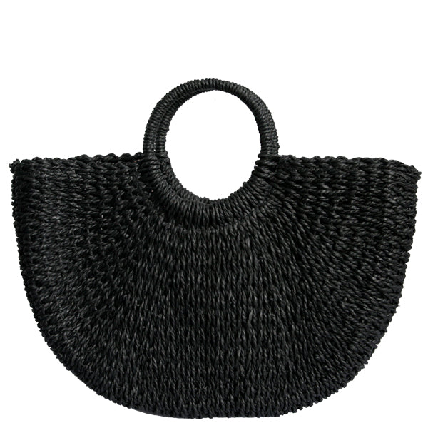 Sandy Straw Tote (Multiple Colors)