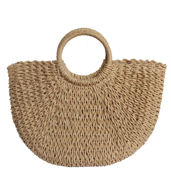 Sandy Straw Tote - Multiple Colors