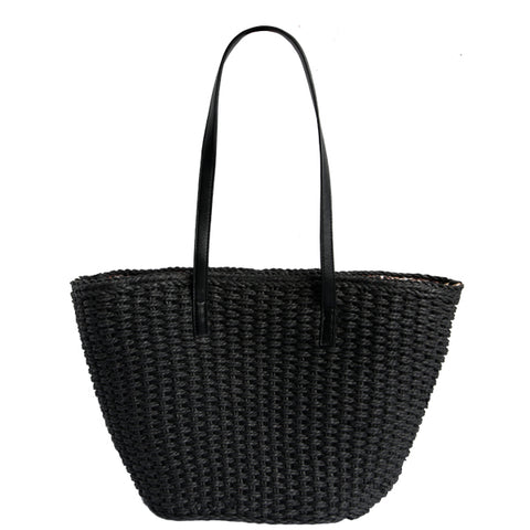 Annette Straw Tote - Multiple Colors