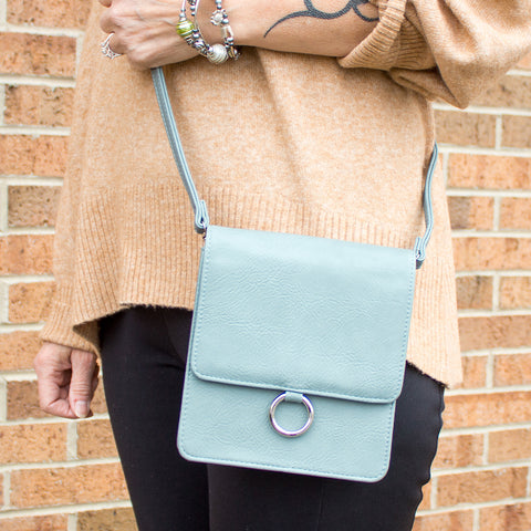 NEW! Box Crossbody Bag (Multiple Colors)