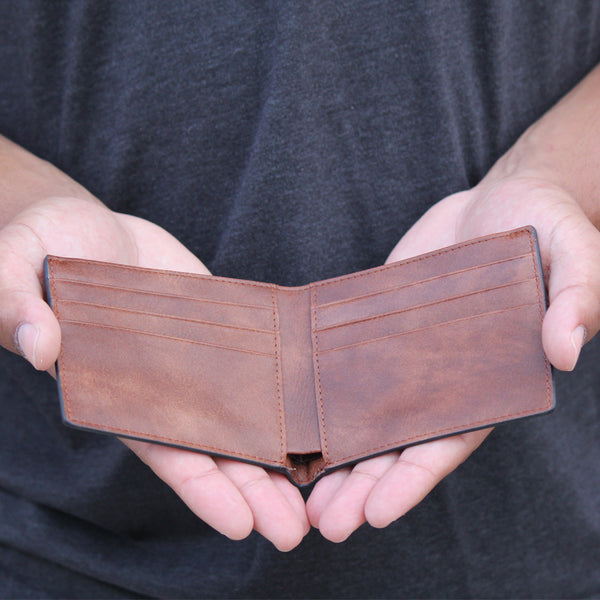 Bi-Fold Wallet - 2 Colors