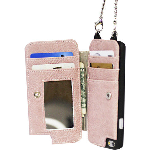 iPhone 6/7/8 Cell Wallet #106 - Pink