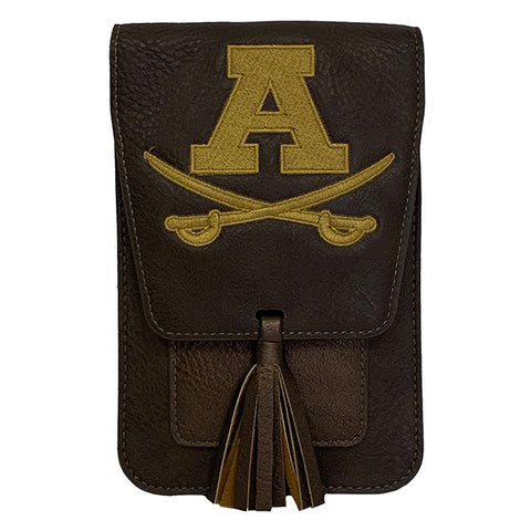 Harper with Embroidered Adams Logo - Brown
