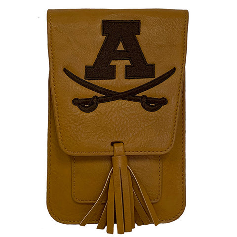 Harper with Embroidered Adams Logo - Mustard