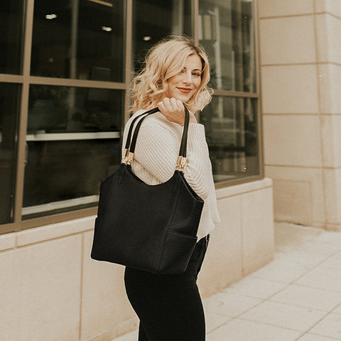 Laura Tote (Navy)