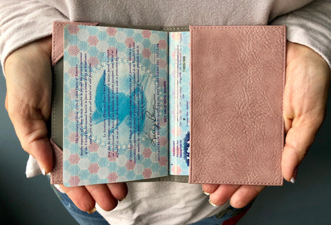 Passport Cover (Pink)