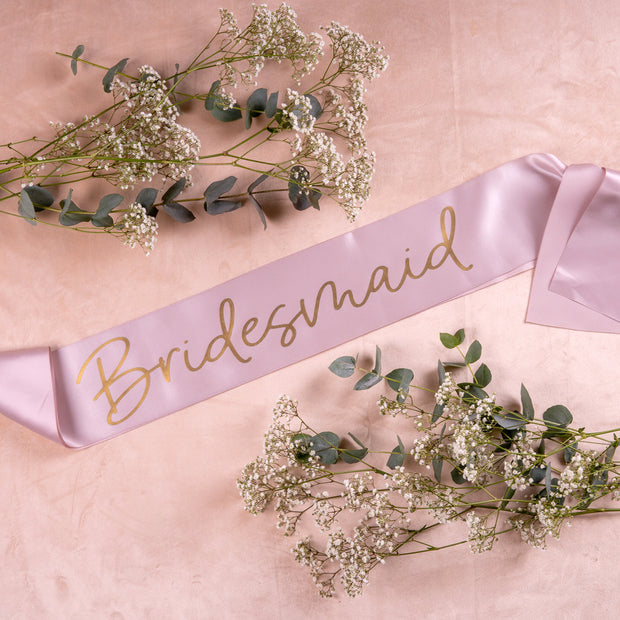 Grey Personalised Sash - HoorayDays