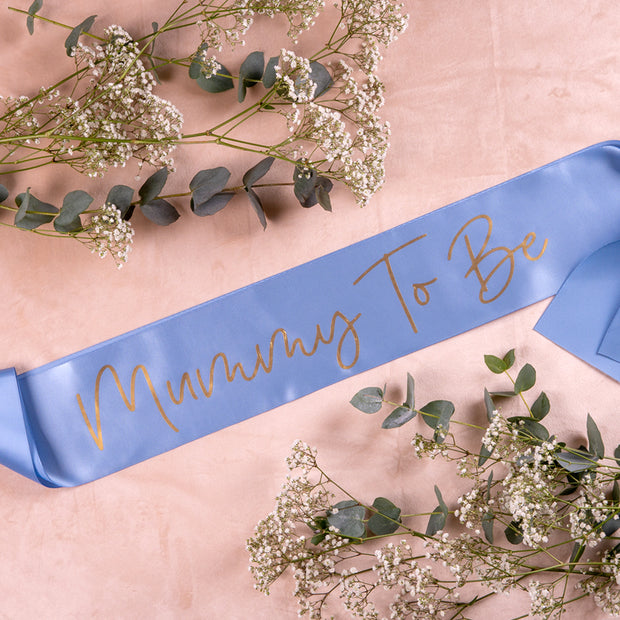 Blue Personalised Sash - HoorayDays