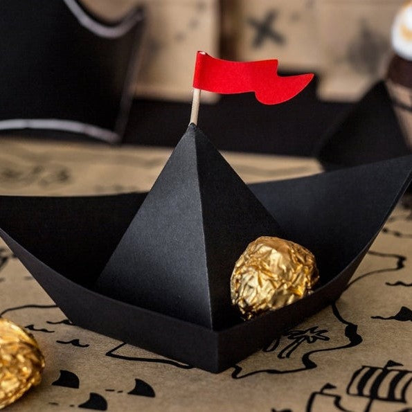 6 Pirate Party Boats - HoorayDays