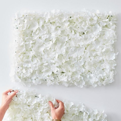 White Flower Wall Tiles - HoorayDays