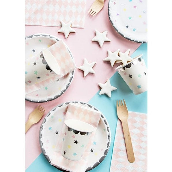6 Unicorn Party Plates - HoorayDays