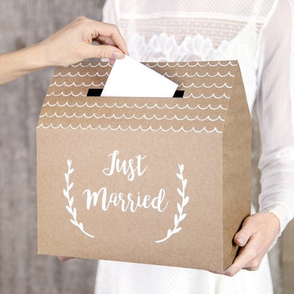 Rustic Wedding Post Box - HoorayDays
