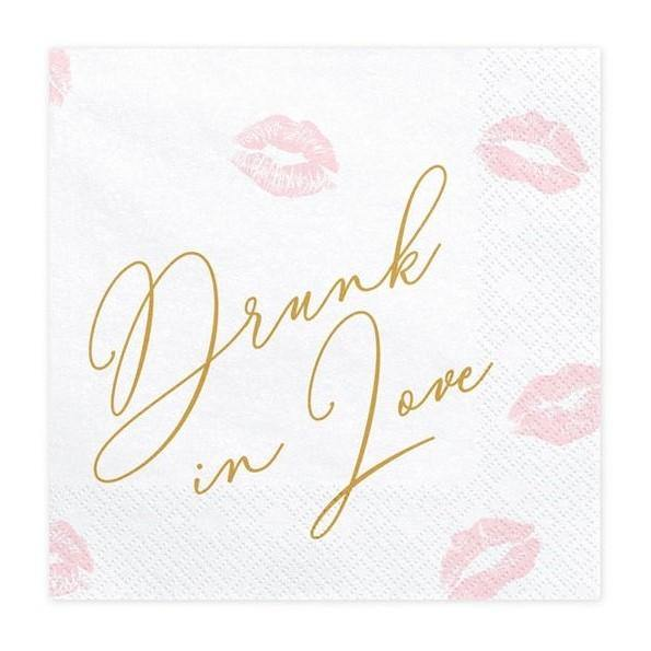 20 Drunk in Love Napkins - HoorayDays