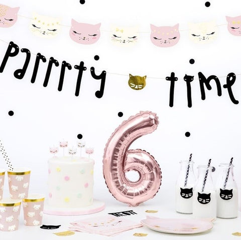 Cat Party Bunting - HoorayDays