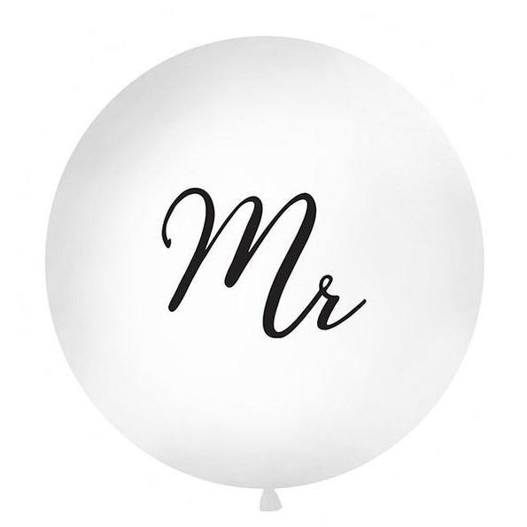 1 Mr Wedding Balloon - HoorayDays